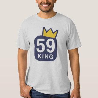 59 rey T-Shirt (ceniza) Playera