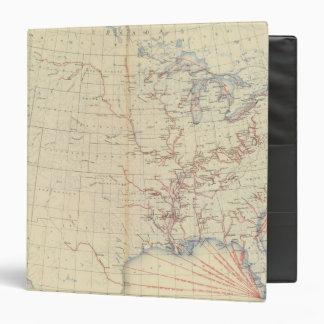 59 ríos navegables, rutas 1890