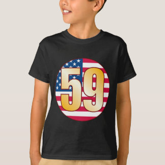 59 USA Gold T-Shirt