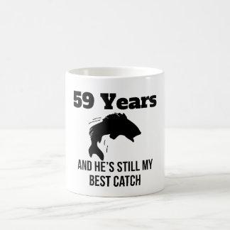 59 Years Best Catch Magic Mug