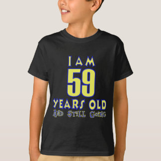 59 YEARS OLD BIRTHDAY DESIGNS T-Shirt