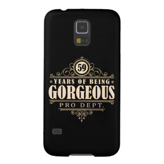 59th Birthday (59 Years Of Being Gorgeous) Galaxy S5 Case