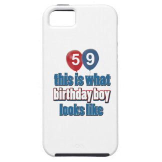 59th birthday designs iPhone 5 cover