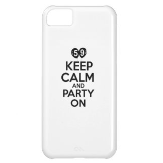 59th birthday designs iPhone 5C case