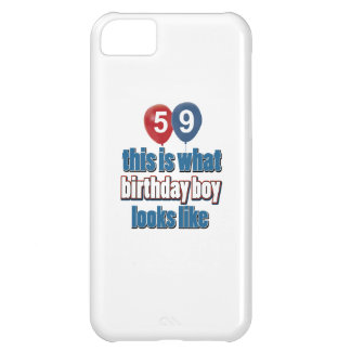 59th birthday designs case for iPhone 5C