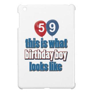 59th birthday designs iPad mini cases