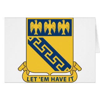59th Infantry Regiment - Let 'Em Have It Card