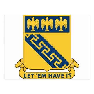 59th Infantry Regiment - Let 'Em Have It Postcard