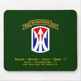 59th IPSD - 11st LIB Mouse Pad