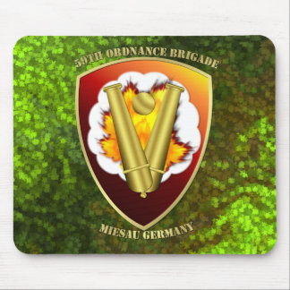 59th Ordnance Brigade Patch Mouse Pad