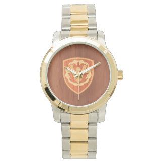 59th Ordnance Brigade Patch - pine wood inlay look Wristwatch