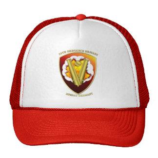 59th Ordnance Brigade Patch Transparent Trucker Hat