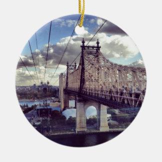 59th Street Bridge Ceramic Ornament