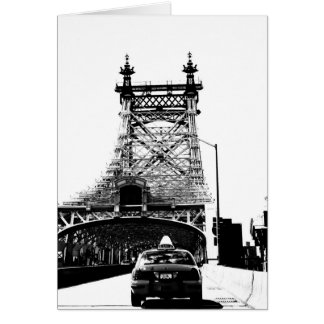 59th Street Bridge, New York Card