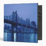 59th Street Bridge, New York, USA 3 Ring Binders