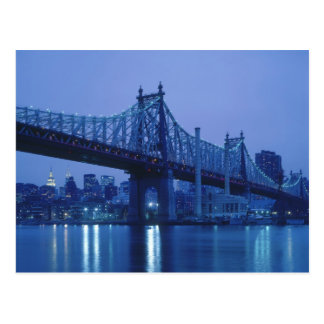 59th Street Bridge, New York, USA Postcard