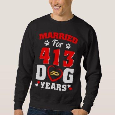 Wedding Themed 59th Wedding Anniversary T-Shirt For Dog Lover.