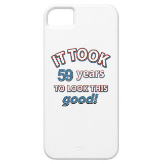 59th year birthday designs iPhone 5 cases