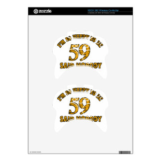 59th year old gifts xbox 360 controller skins