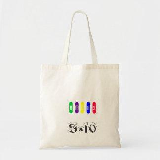 5×10, A, M, N, O, S TOTE BAG