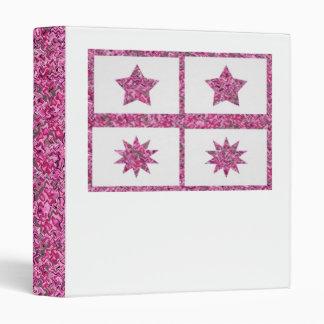 5 & 10 Point  Purple Lucky Ornamental Stars Binders