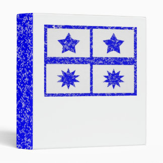 5 & 10 Point Sparkle Lucky BlueStars Binder