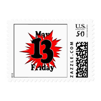 5-13 Friday The 13th in May Postage