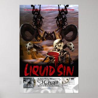 5/13 LIQUID SIN - TFC Poster Series
