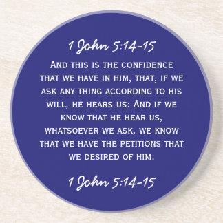 5:14 de Juan del paso 1 de la biblia - 15 en el te Posavasos Diseño