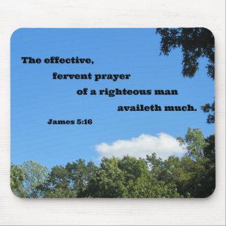 5:16 de James el rezo eficaz, ferviente… Alfombrillas De Ratones