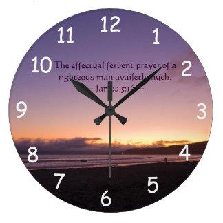 5:16 de James Reloj Redondo Grande