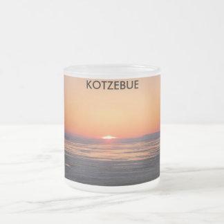 5 1 09, KOTZEBUE FROSTED GLASS COFFEE MUG