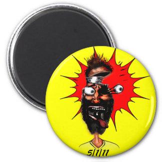 5/1/11 Cartoon 2 Inch Round Magnet