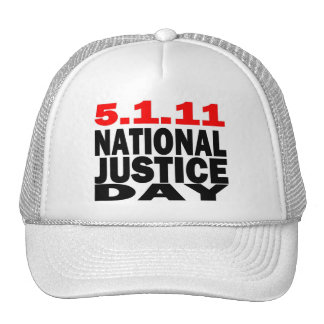 5/1/2011 NATIONAL JUSTICE DAY TRUCKER HATS