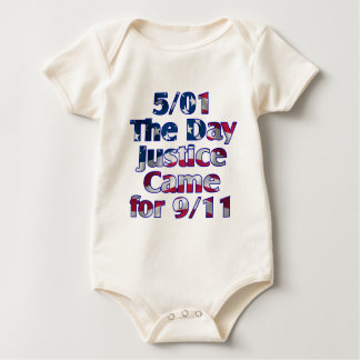 5/1 Day Justice Came for 9/11 Baby Bodysuit