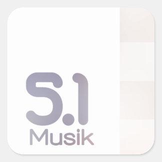 5.1 Musik Channel Sticker
