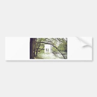 5.1 Musik Gadget Bumper Sticker