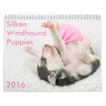 5 2016 Silken Windhound Puppies Calendar