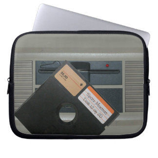 5.25 Floppy and Retro Computer Computer Sleeve