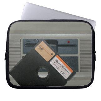 5.25 Floppy and Retro Computer Laptop Computer Sleeve