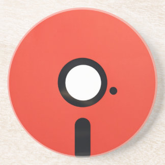 5.25 Floppy Disc Drink Coaster