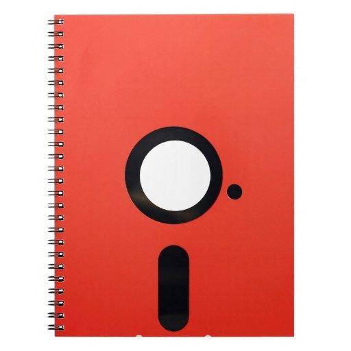5.25 Floppy Disc Note Book