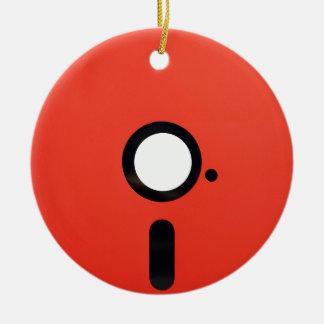 5.25 Floppy Disc Christmas Tree Ornament