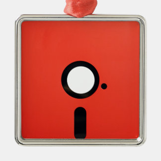 5.25 Floppy Disc Christmas Ornament