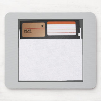 5.25 inch Floppy Disk Items Mouse Pad