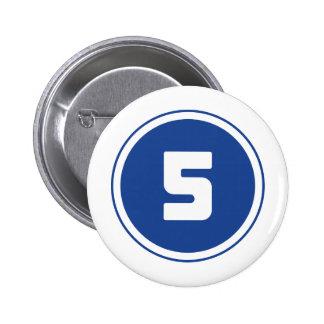 ## 5 ## 2 INCH ROUND BUTTON