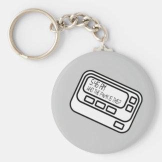 5:46 In the Morning Basic Round Button Keychain