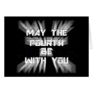 5-4  May the Fourth Card