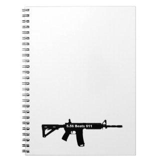 5,56 Bate 911 Notebook