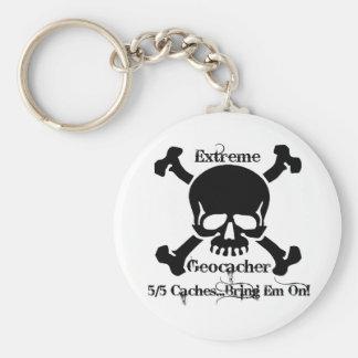 5/5 Caches...Bring Em On! Keychain